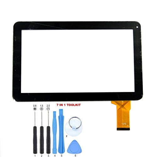 GR Touch Screen Digitizer Panel for IRulu eXPRO X11 10.1 Inch Tablet PC