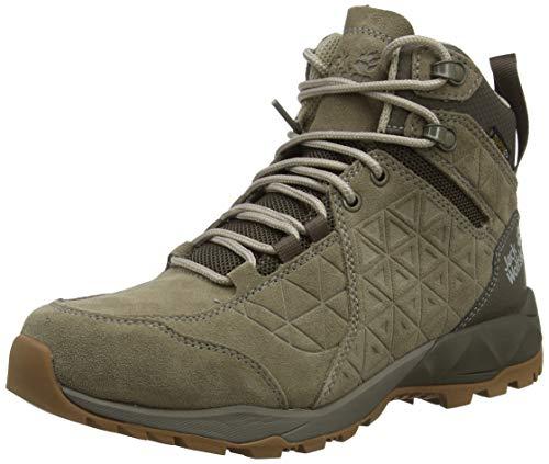 Jack Wolfskin Cascade Hike Lt Texapore Mid W, Chaussures de Randonnée Hautes Femme, (Beige/Coconut Brown 5224), 39.5 EU