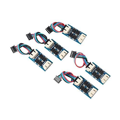 ZHOUYUFAN 5 x TL-Smoother V1 Addon-Modul für RepRap Pursa I3 3D-Drucker Schrittmotor-Treiber