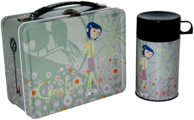 NECA Coraline Lunchbox Pastel Flowers