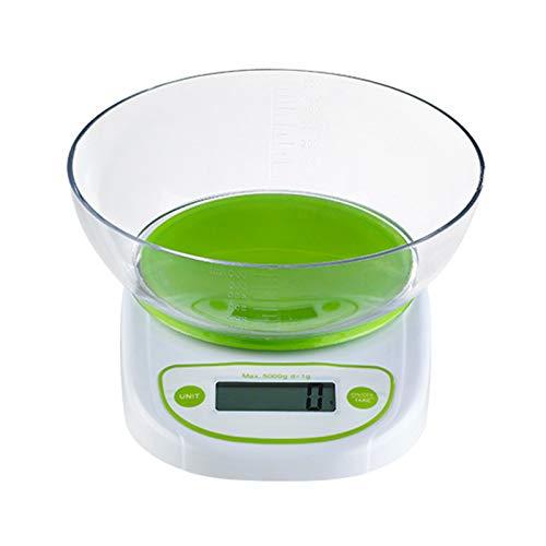Báscula electrónica de cocina digital de 5 kg