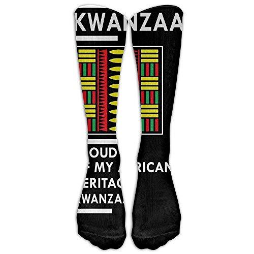 iuitt7rtree Highly Elastic,Durable, Flexible,Proud Kwanzaa People Celebrate Africa Custom Knee High Socks Football Baseball Long Stockings For Men Women