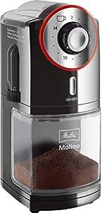Melitta Molinillos de Cafe, 100 W, 0.2 kg, plástico, Negro/Rojo