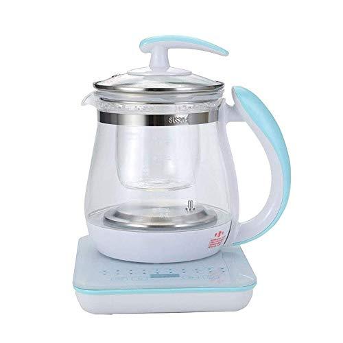 SMLZV Wasserkocher Tee Glas, Intelligent LED Gesundheit Pot Quiet Schnelle Boil Automatische Abschaltung und Trockengehschutz