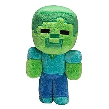 JINX Minecraft Baby Zombie Plush Stuffed Toy Multi-Colored 8.5  Tall