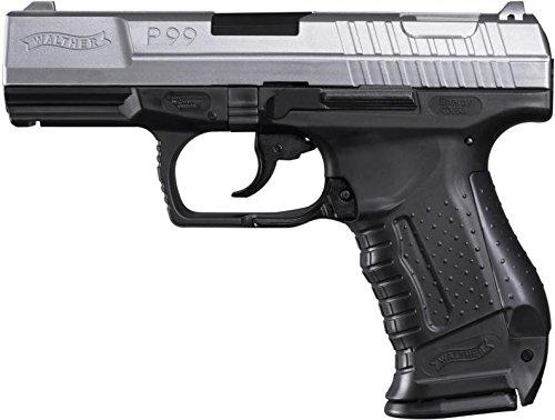 Walther P99 BICOLOR inkl. Ersatzmagazin Federdruck Softair Pistole 6 mm BB 0,5 J