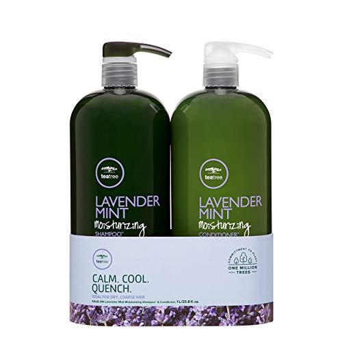 Tea Tree Lavender Mint Shampoo and Conditioner Duo (Organix Tea Tree Mint Shampoo For Dandruff)