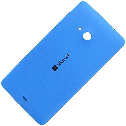 Microsoft Lumia 535 copribatteria originale ciano blu batteria vano coperchio Blue Cover posteriore rigida A batteria Battery Back Cover posteriore colore coperchio alettaper Housing Lid