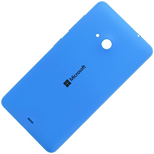 Microsoft Lumia 535 copribatteria originale ciano blu batteria vano coperchio Blue Cover posteriore rigida A batteria Battery Back Cover posteriore colore coperchio alettaper Housing Lid