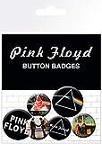 Nosoloposters GB Eye LTD, Pink Floyd, Album y Logos, Pack de Chapas, Multi, Unico