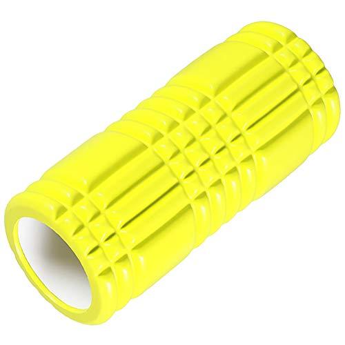 BGROESTWB Masaje Trasero del Rodillo de Espuma Columna de Bola de Rodillo de Roller EVA Yoga Adecuado para Gimnasio y casero 33 cm Rodillo de Espuma Hueco para la Fitness de Yoga