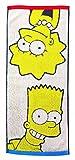 丸眞 フェイスタオル The Simpsons ザ・シンプソンズ 34×80cm シンプソンズ 綿100% ジャカード織 4935000200