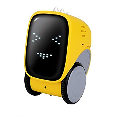 DLAGER Robot Toy, Remotely Handgestures Control, Touch and Voice Control, Smile Face Show,Funny Speak Like You Recorder, Music,,Educational Stem Robotics Toys for Kids, Gifts for Kids