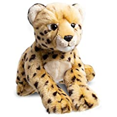 Renowned toy brand FAO Schwarz delivers with this ultra-soft and snuggly cheetah stuffed animal. Boasting sturdy construction and high-quality materials, children will love to tote this feline companion around everywhere they go! Fao schwarz's cheeta...