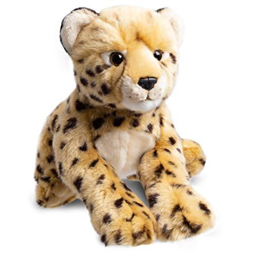 FAO Schwarz Cheetah Cub Stuffed Animal Toy Plush, Ultra Soft & Snuggly Doll for Creative & Imagination Play, 12'