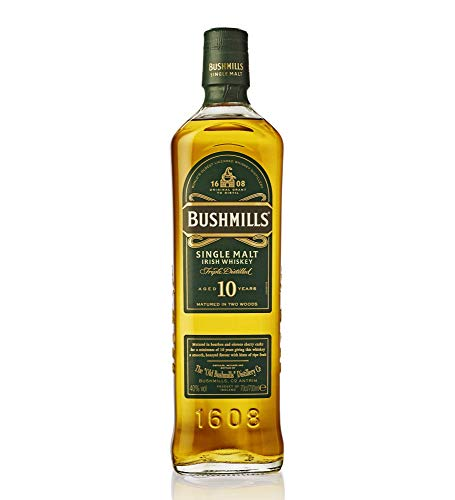 Whiskey Bushmills Single Malt 10YO, 700 ml
