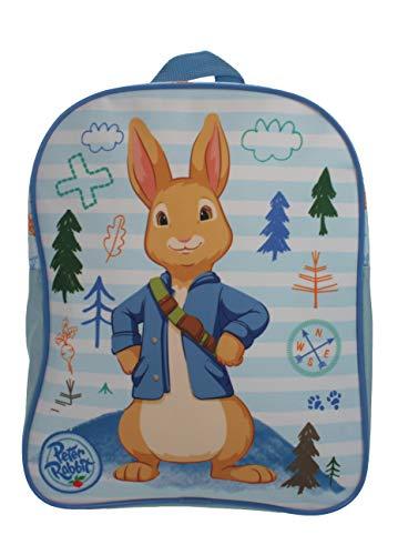 Peter Rabbit Woodland Sriped Blue & White Mochila infantil