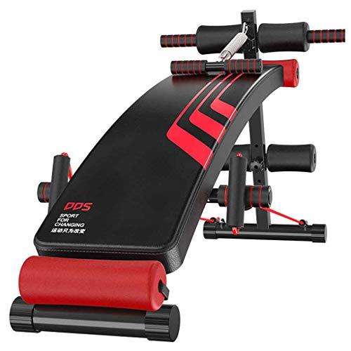 Banco de fitness ajustable en forma de arco para sentarse y sentarse en la tabla para hacer ejercicio, entrenamiento, equipo de fitness multiuso