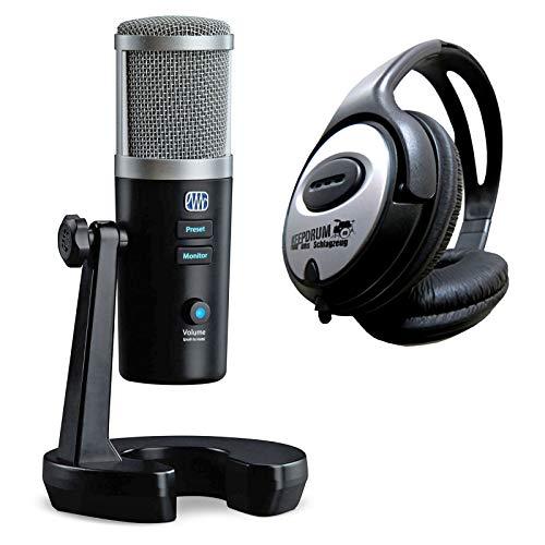 Presonus Revelator - Micrófono USB y auriculares Keepdrum