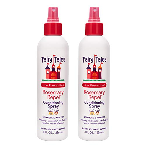FAIRY TALES Rosemary Repel Lice Prevention Leave-In Conditioning Spray 8 oz by Fairy Tales