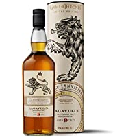 Lagavulin - Whisky Scotch Islay Single Malt, Edición Limitada Juego de Tronos: Casa Lannister, 700 ml
