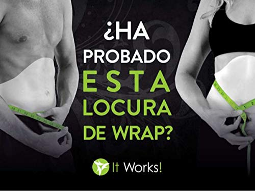 It Works! Ultimate Body Wrap Applicator (1 Box of 4 Wraps)