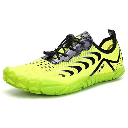 YLiansong-home Zapatos de Agua Señoras de Escalada al Aire Libre Zapatos de Agua Playa Zapatos de Buceo natación para Nadar (Color : Green, Tamaño : 38)