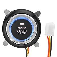12Vエンジンスタートストップボタンキーレスイグニッションスタートスイッチ。