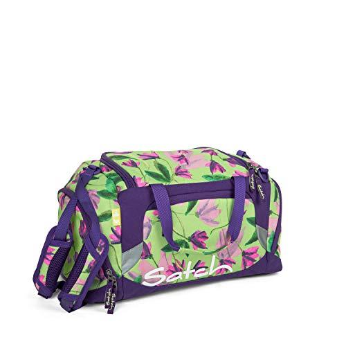 Satch Sporttasche Ivy Blossom, 25l, Schuhfach, gepolsterte Schultergurte, Grün
