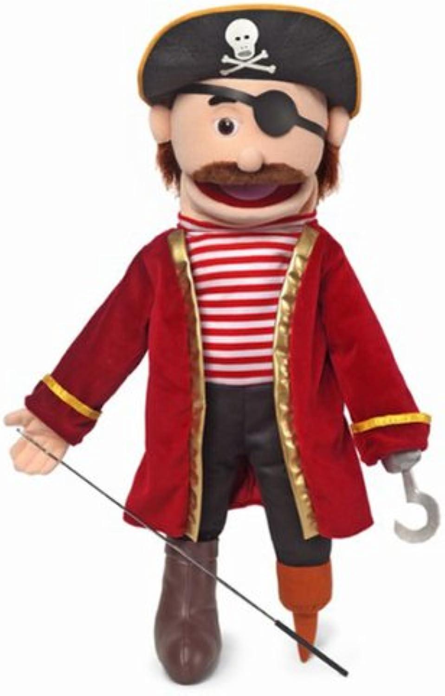 Pirate, Peach Male, Full Body, Ventriloquist Style Puppet, 65cm