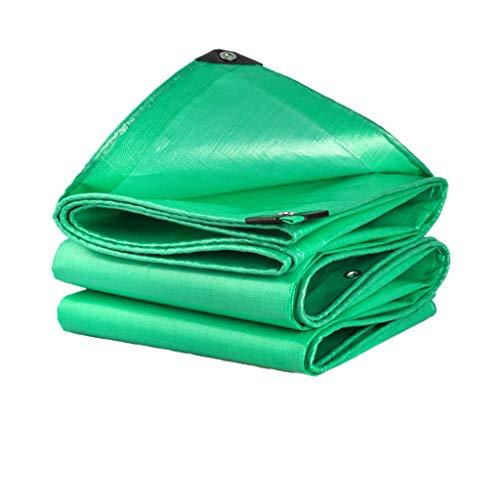 Lona alquitranada Lona de protección solar a prueba de lluvia al aire libre, lona impermeable para toldo, lona, carpa, bote, vehículo recreativo o cubierta de piscina (Size : 5X6m)