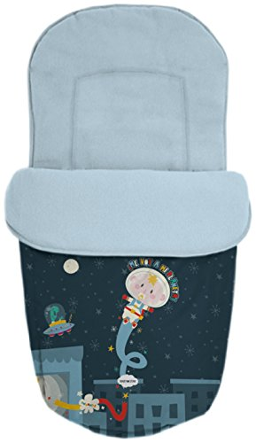 Baby Star 25485 – Sac pour siège universelle, couleur BLEU