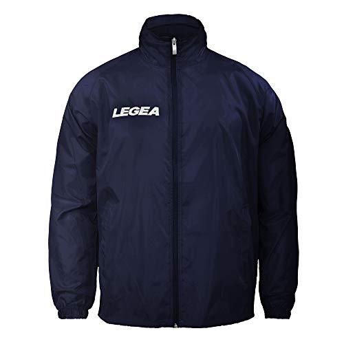Legea regenjas Italia voetbal teamwear, blauw, maat