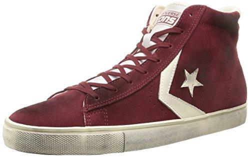 Converse Pro Leather Vulc Mid Suede/LTH - Zapatillas de Deporte Hombre