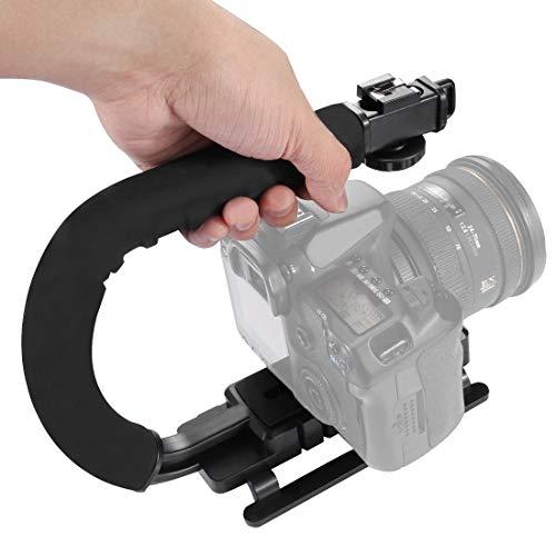 Camera stabilisator/U/C Shape draagbare handheld DV Bracket Stabilizer, for SLR camera's en Thuis DV Camera (Color : Color2)