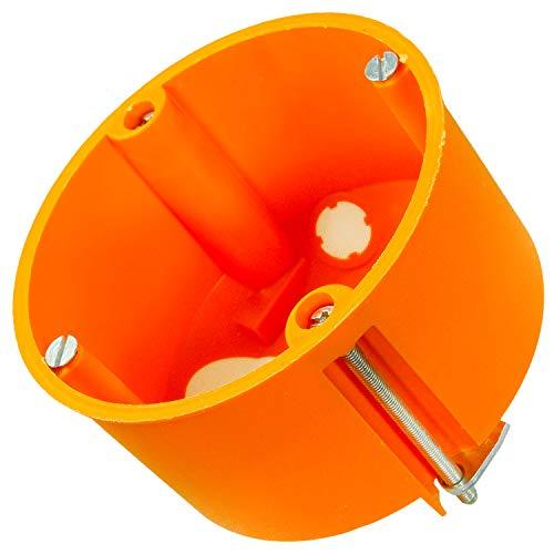 5 VDE Hohlwanddosen mit Membranen, Gerätedosen, Verbindungsdosen, winddicht, 68 x 47 mm