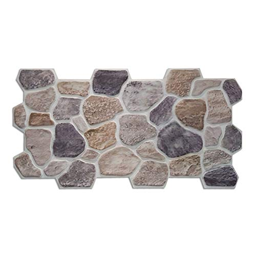 Panel de imitación de Piedra clásica reconstruida en poliestireno resinado (Vesuviana)