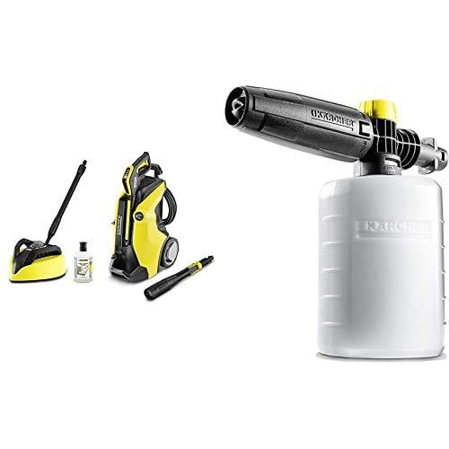 Kärcher K 7Full Control Plus HomePulitore ad Alta Pressione, 3000 W + Accessorio per Idropulitrice Schiumogeno 0.6 l