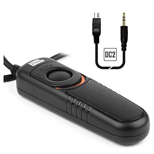 Pixel RC-201/DC2 Telecomando Cavo di controllo dell'otturatore per Nikon D5600 D3100 D3200 D3300 D5000 D5100 D5200 D5300 D5500 D90 D7000 D7100 D7200 D600 D610 D750 Coolpix P7700 P7800 Coolpix A