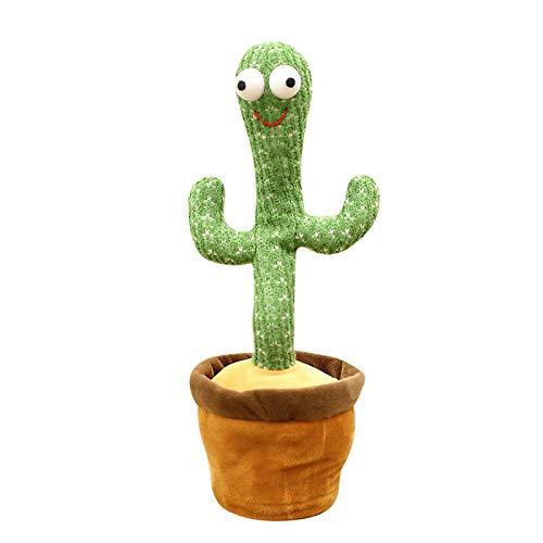 Plüschtier Tanzender Kaktus Plüsch Mit Musik Kaktus Plüschtiere Lustiges Spielzeug des Elektronischen Kaktus Schütteln Sie Tanzenden Kaktus Die Für Kinder Erwachsene Und Geschenke Geeignet Ist