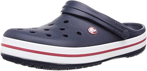 Crocs Crockband, Zuecos Unisex Adulto, Azul (Navy 11016-410), 46/47 EU