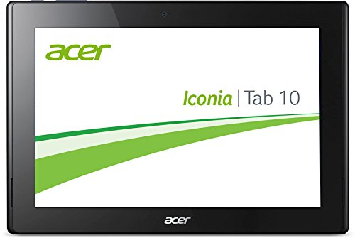Acer Iconia Tab 10 (A3-A30) 25,7 cm (10,1 Zoll Full-HD) Tablet-PC (Intel Atom Z3735F, 1,83GHz, 2GB RAM, 32GB eMMC, Android 5.0 Lollipop) schwarz