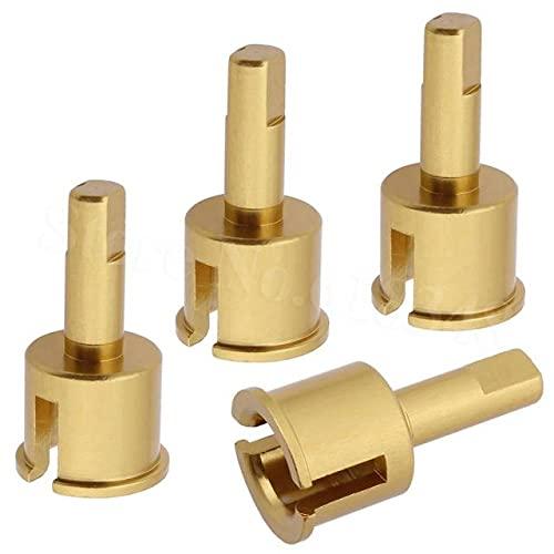DNKKQ 4 Piezas Himoto E18 Piezas de actualización M613 Aluminio Diff Outdrives Copa Conjunta para RC 1/18 eléctrico Spino E18XBL Mastadon E18MTL 23618 Accesorios de Calidad ( Color : Gold Yellow )