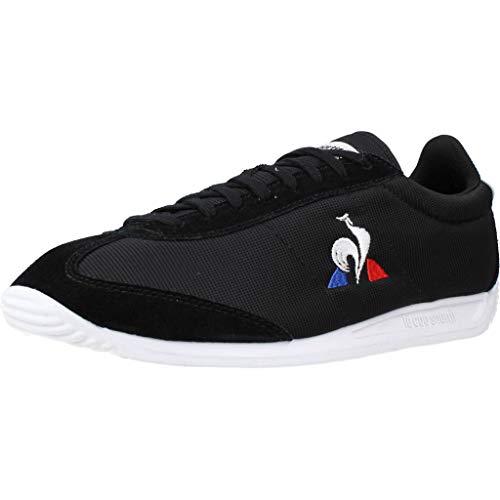 Le Coq Sportif Quartz Sport, Zapatillas Hombre, Black/Optical White, 45 EU