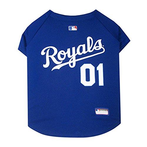 MLB Kansas City Royals Dog Jersey Small
