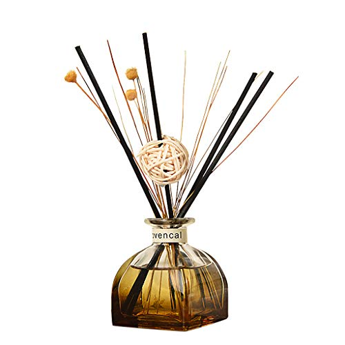 Fineday Reed Oil Diffusers with Natural Sticks, Glass Bottle and Scented Oil 35ML, Home Decor, Products for Christmas (G)