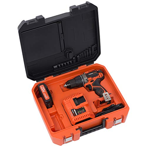 Powerplus POWDP1515 Dual Power Akkuschauber 20 V Li-Ion-Akku - das Kraftpaket von Powerplus + Ladegerät
