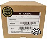 IET Replacement Lamp Assembly with Genuine Original OEM Bulb Inside for EPSON PowerLite Home Cinema 2030 Projector (Power by Osram)