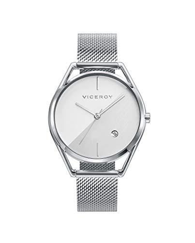 Viceroy Air – Reloj Mujer Acero Esfera Plateada 42392-07