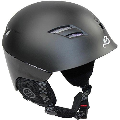 Cox Swain Ski-/Snowboard Helm Peak LTD. Inmold, Colour: Black, Size: L (56-61cm)